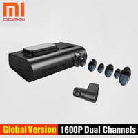 Xiaomi Mijia DDPai X2Pro double canaux caméra de tableau de bord intégré eMMC stockage HD enregistrement 24H moniteur de stationnement