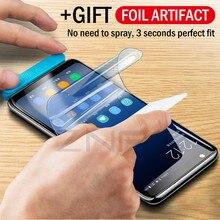 Full Soft Hydrogel Film For Samsung Galaxy S9 S8 A8 Plus Screen Protector For Samsung S10 Plus 5G Note 10 Plus 9 8 S7 Edeg Film автомобильное зарядное устройство red line tech2usb type capd 3a 3a ут000015302 черный
