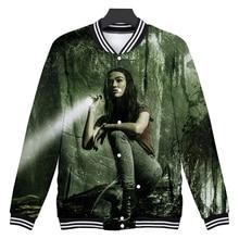 Swamp monster 3D Hoodie  Baseball Jacket Men Women Streetwear Hip Hop Funny Uniform Sweatshirt