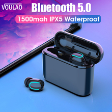 VOULAO Wireless Headphones HBQ Q32 TWS Bluetooth 5.0 Earphones Handset