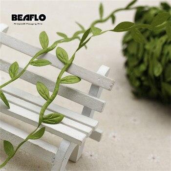 10m artificial vine leaf decoratio