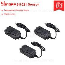 Sonoff Módulo de Sensor de alta precisión Itead, 3 uds., Si7021, temperatura y humedad, Compatible con Sonoff TH10/TH16, mando a distancia