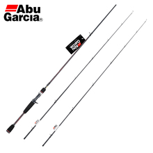 Abu Garcia Black Max BMAX 1.98M 2.14M 2.44M Spinning Fishing Rod M ML Two Tips Fast Action Carbon Fiber Saltwater Fishing Tackle