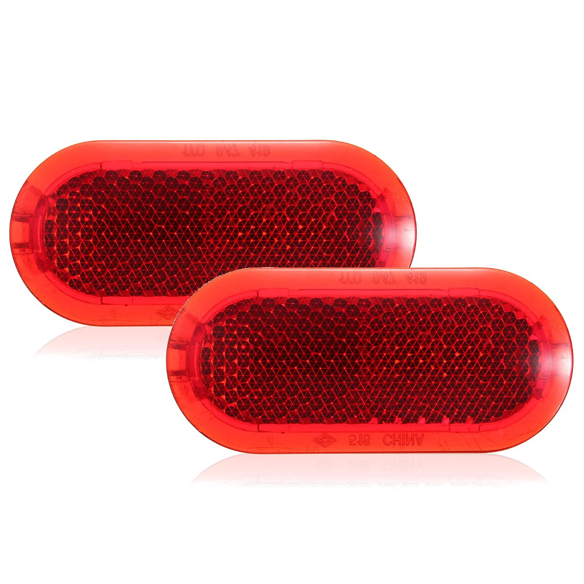 Fit For VW Beetle Caddy Polo Touran Door Red Panel Light Reflector 6Q0947419