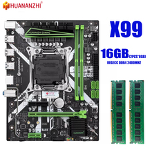 Server MATX Huananzhi X99 Memory-Combo-Kit-Set DDR4 with 2--8g--16gb 2400mhz REGECC NVME