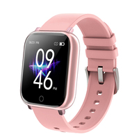 Reloj inteligente deportivo para hombre y mujer, dispositivo resistente al agua con control del ritmo cardíaco y de la presión sanguínea, para Android e IOS