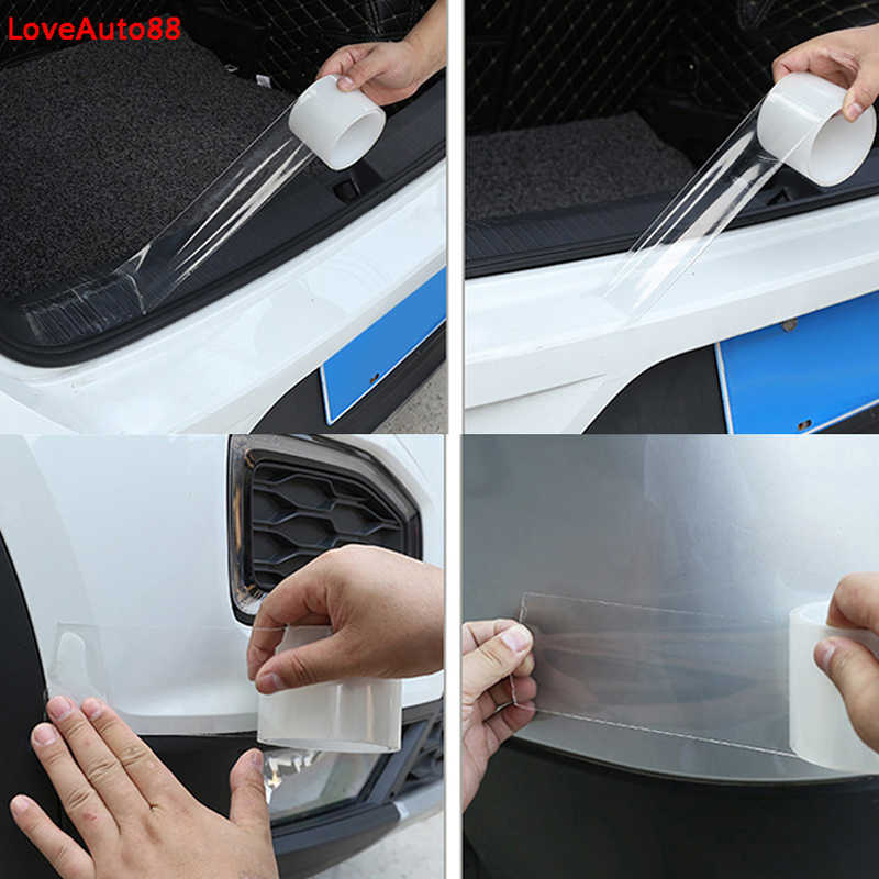 VOLKSWAGEN Car Door Body Bumper Edge Corner Protect Rubber Strip Anti-Rub Guard