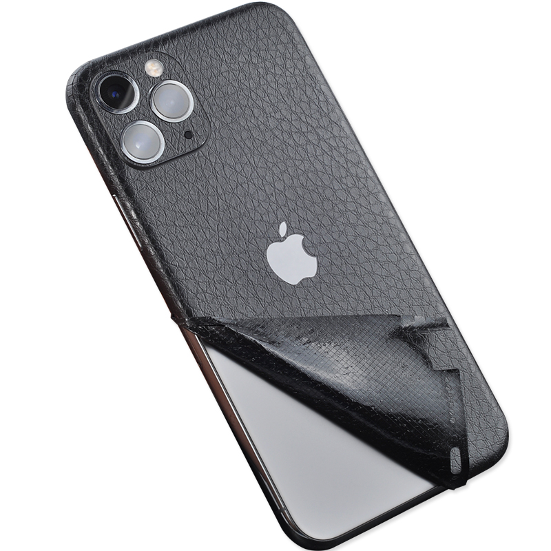 New <font><b>Leather</b></font> Skin Sticker For <font><b>iPhone</b></font> <font><b>6</b></font> 6S 7 8 X 11 Back Film Thin Protector Protective <font><b>Cover</b></font> Paste Rear Decorative Sticker image