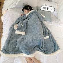 Корейская шикарная зимняя новая ночная рубашка милая мультяшная