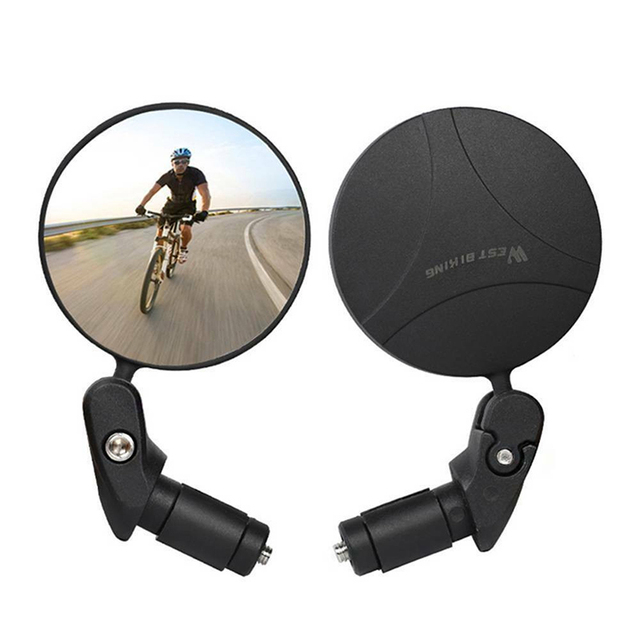 Mountain Bike Rear View Mirror Bicycle Rearview Mirror Outdoor Sport Security