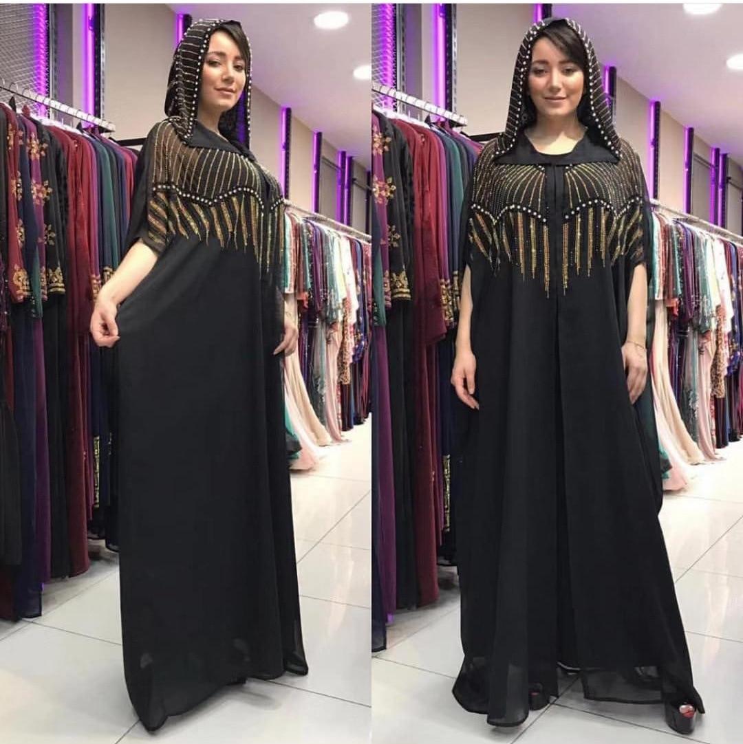Африканские платья для женщин 2019 африканская одежда мусульманское длинное платье высокого качества модное Африканское платье с алмазными