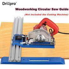 Drillpro novo multifunções fácil corte circular viu máquina guia de corte base posicionamento guia de corte ferramentas para trabalhar madeira