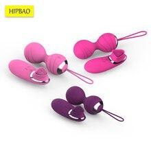 Vibratore Palline di Kegel Uovo di Telecomando per Le Donne Mini Vaginale Palle di Vibrazione Del Sesso Kegel Simulatore Cinese Delle Donne Giocattoli