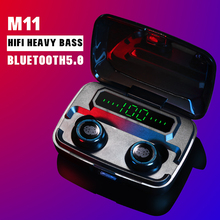 M11TWS Wireless Bluetooth 5.0 earphone HiFi Waterp