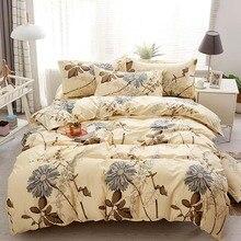 Juego de cama de crisantemo, tamaño Queen, elegante, clásico, romántico, Vintage, edredón, King, juego de cama individual y doble completo