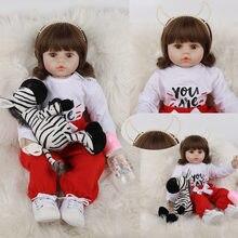 Jingxin prinses 60 см силиконовая кукла для новорожденных игрушки