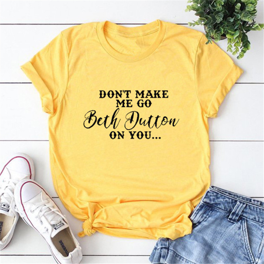 Letter T Shirt Summer Yellow Top Women Plus Size T-shirt 2019 New Short Sleeve Tops Tee Shirts Female Casual Tees 3XL