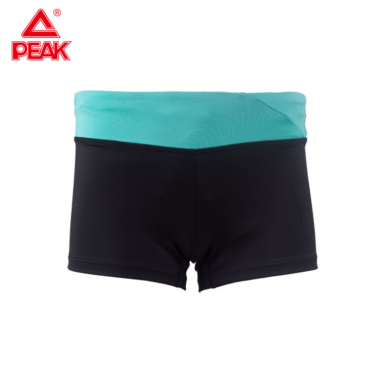 PEAK Women Sprot Gym Shorts Tight Workout Leggings Ladies Fitness Summer Spandex Pocket Sport Shorts
