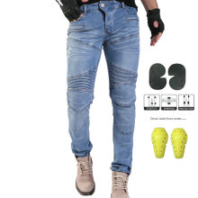 Komine MOTORPOOL UBS06 PK718 джинсы для отдыха на мотоцикле мужские джинсы для улицы по бездорожью/велосипедные штаны с защитой для мужчин t