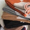 Портативный Теплый диван-кровать 140x170 см шерстяная вязаная шаль одеяло шерстяное вязаное крючком одеяло наволочка Флисовое одеяло для взро...