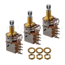 3pcs A500k 18mm Shaft Push Pull Potentiometer For Guitar Control