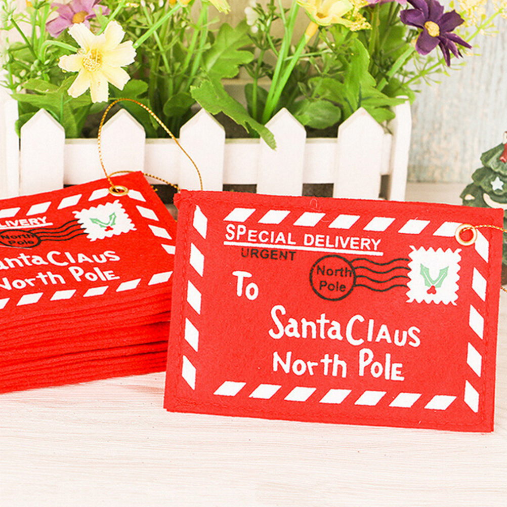 New Year 1pc Red Green Santa Claus Christmas Envelope Christmas Cards Candy Bag Christmas Decorations For Home