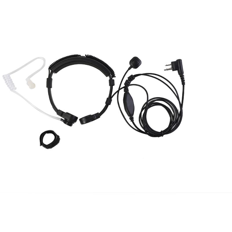 M Head Extendable Throat PPT Microphone Earpiece Headset For Motorola GP88 XV1100,XV2100 XU1100,XU2100 For Spirit MU11,MU11C