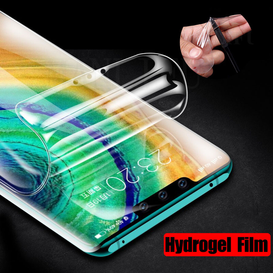 21D Silicone Front Soft TPU Hydrogel Sticker Film For LG G5 G6 G7 G8 ThinQ Q7 Q6 Plus V20 V30 V40 V50 K12 Screen Protector