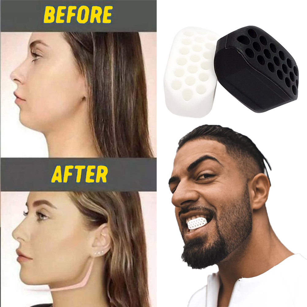 Face Jaw Muscle Exerciser Food Grade Silicone Facial Line Trainer Slimming Anti Wrinkle Beauty Fitness Equipment