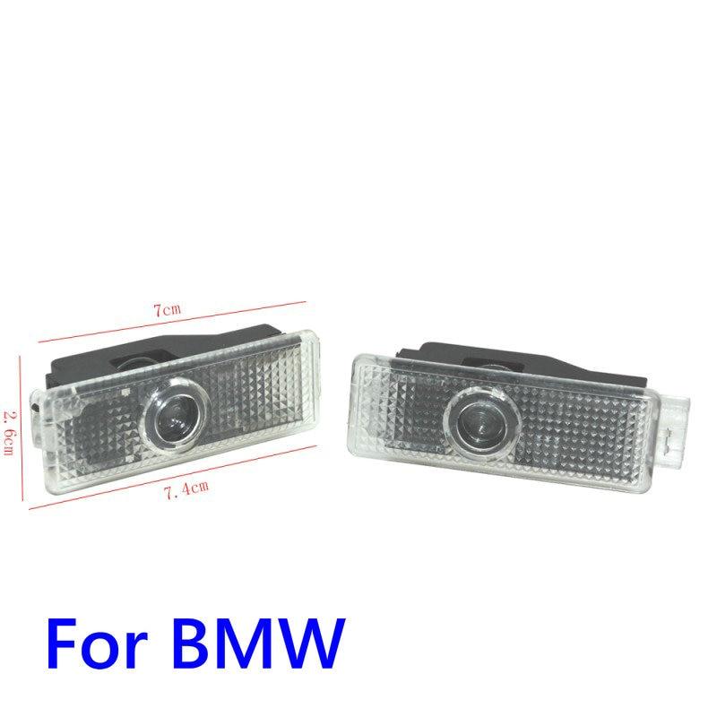 Автомобильная светодиодная подсветка двери проектор логотипа Добро пожаловать Свет для BMW 3 7 5 серии G30 E90 E60 M5 G11 G12 F30 F31 X1 F48 X4 F26 X6 F16 X5 G05