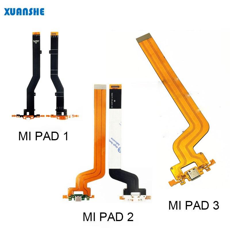 Для Xiaomi Mi Pad 1/2/3 USB разъем для зарядки, штепсельная вилка, разъем для док станции, гибкий кабель, запасные части Шлейфы для мобильных телефонов    АлиЭкспресс