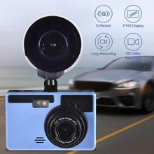 "Dash Cam Dual Lens Full HD 1080P 3"" IPS Car DVR Vehicle Camera Front+Rear Night Vision Video Recorder G-sensor Parking Mode WDR(China)"