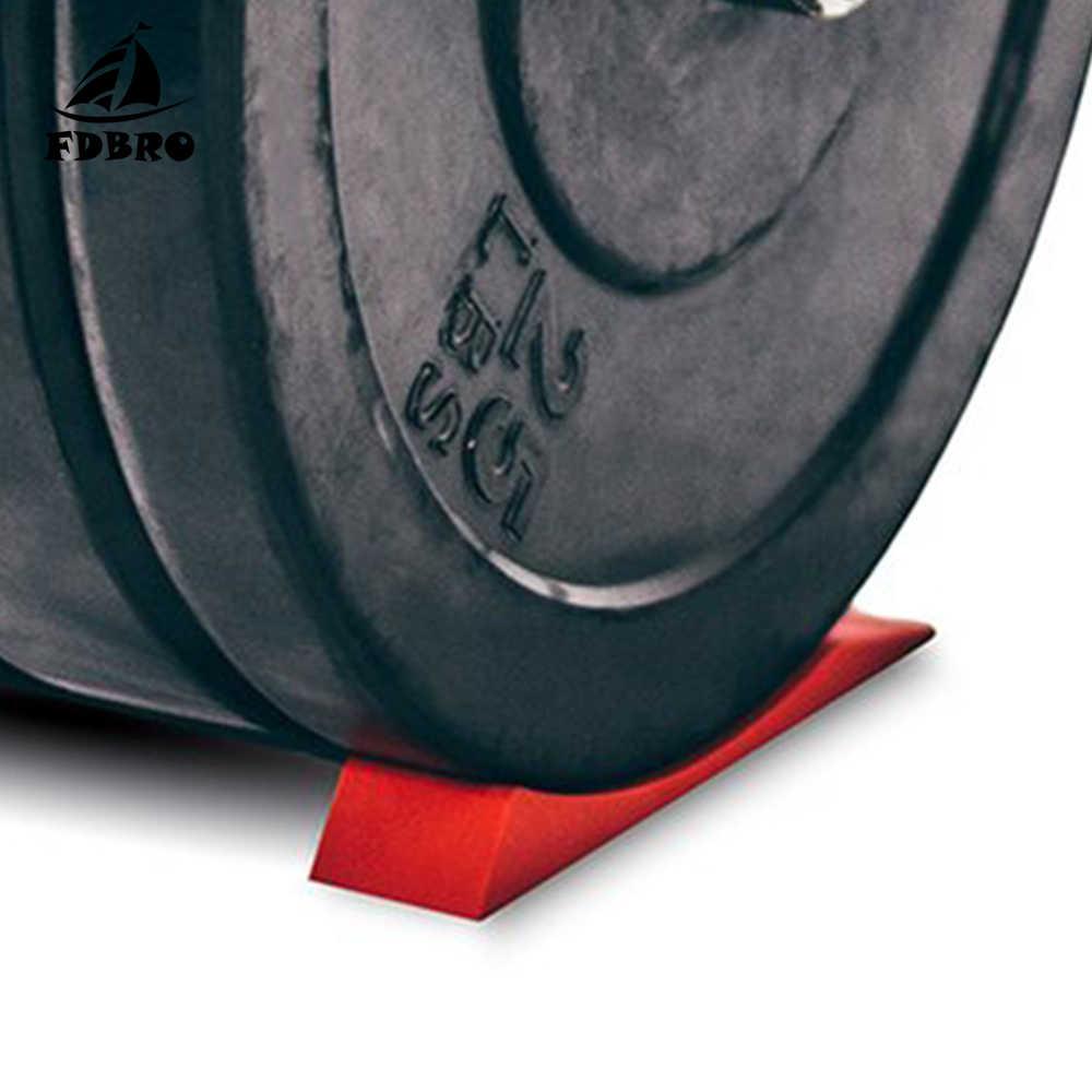 FDBRO Deadlift Barbell แจ็คทางเลือก WEDGE UNLOAD Barbell แผ่นน้ำหนักยก Fitness GYM ออกกำลังกายอุปกรณ์