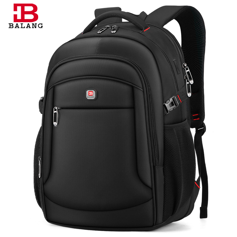 Balang 2020 New Fashion  Men Backpack  Multifunctional Laptop Backpack 15.6 To 17inch  School Bag Waterproof  Travel Bag
