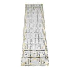 1 sztuk 15*60 cm linijka do szycia patchworku 3mm gruby przejrzysty patchworkowy stóp Handmade Diy niezbędne dedykowane Patchwork narzędzia