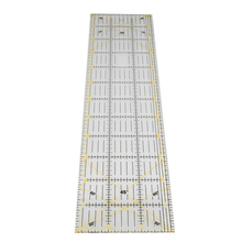 1 Pcs 15*60 cm Nähen Patchwork Lineal 3mm Dicke Transparente Patchwork Fuß Handgemachte Diy Ätherisches Gewidmet Patchwork werkzeuge