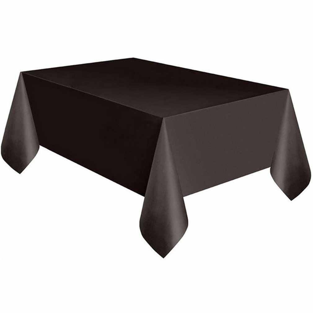 Disposable Tablecloth Rectangle Table Covers Wedding Christmas Birthday Party Festival Decoration Dining Table Cloth 137*183cm