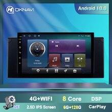Oknavi 4g wifi android 90 Автомобильный видео плеер для bmw