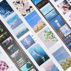 Kawaii Flowering Dream Series Diary Washi Masking Tape DIY Stickers Scrapbooking Stationery Decorative Long Strip Of Tape