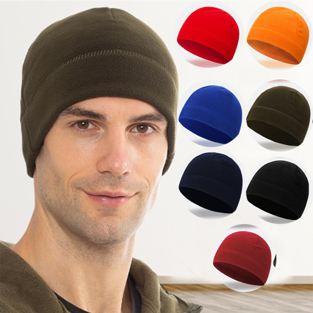 1 PC Unisex Fleece Hats Windproof Winter Warm Hat Camping Hiking Caps Outdoor Fishing Cycling Hunting Military Tactical Cap|Hiking Caps|   - AliExpress
