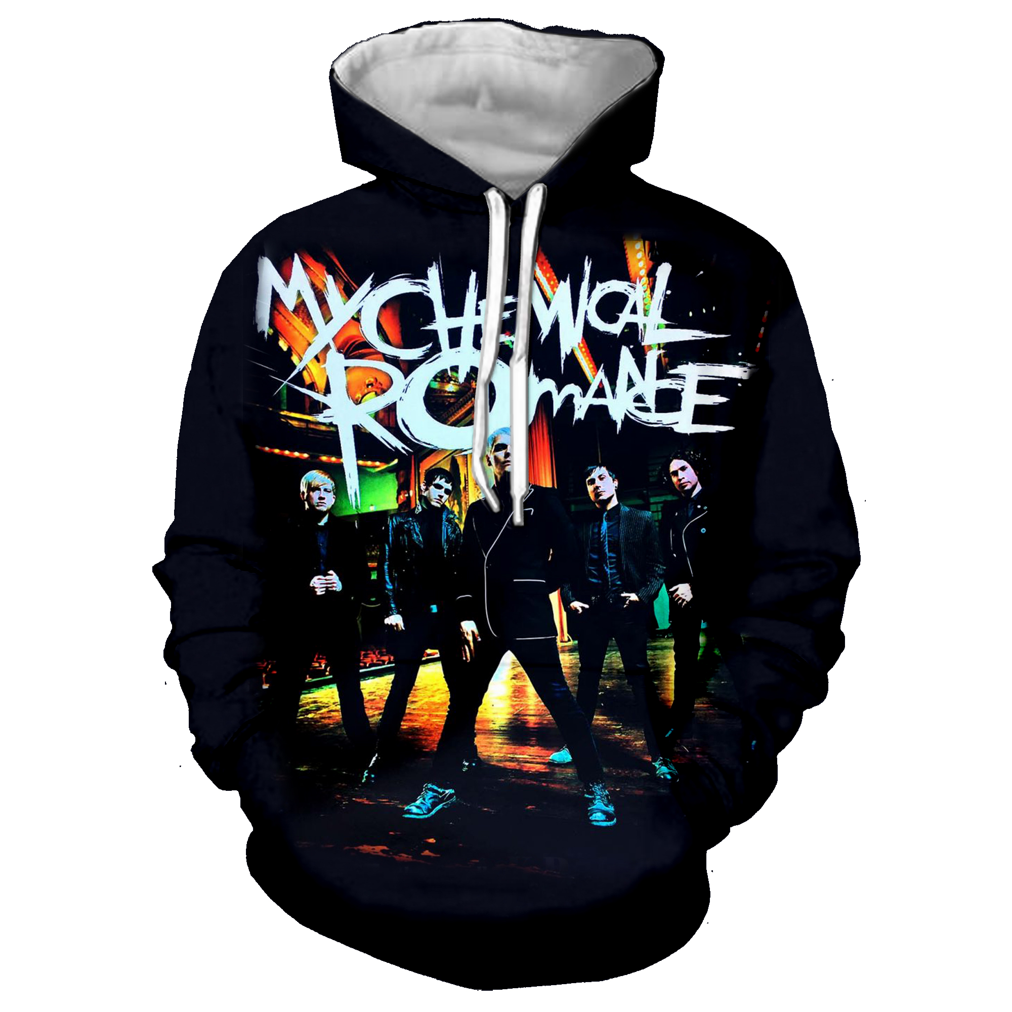 Pop Punk Rock My Chemical Romance 3D Print Jacket Women/men Streetwear Sweatshirt Men's Hoodies Man Outfits sudadera <font><b>hombre</b></font> <font><b>6XL</b></font> image