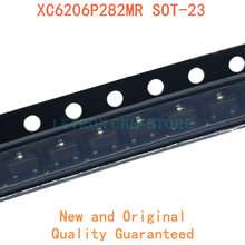 100 Uds XC6206P282MR SOT-23 54FK 2,8 V SOT23 SMD regulador lineal LDO chip nuevo y original IC Chipset