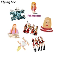 sticker motorcycle Flyingbee 35 pcs Mean Girls Movie Sticker Sexy women Stickers for DIY Luggage Laptop Skateboard Car Motorcycle Stickers X0738 (4)