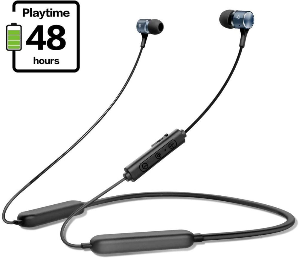 Gorsun E18 Bluetooth 5 0 Headphones Magnetic Wireless EarbudsIPX5 Sweatproof Sports Headphones with Microphone Noise Canceling