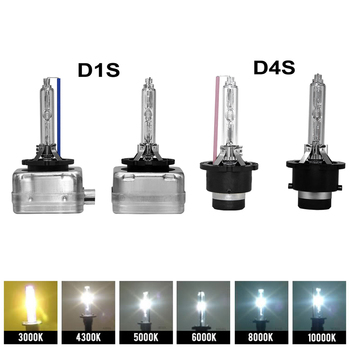 HID Xenon Light Car D1S D2S D3S D4S HID Bulb CBI Xenon Headlight Lamp D1 D2 D3 D4 D1R D2R D3R Headlamp Light 4300K 6000K 8000K image
