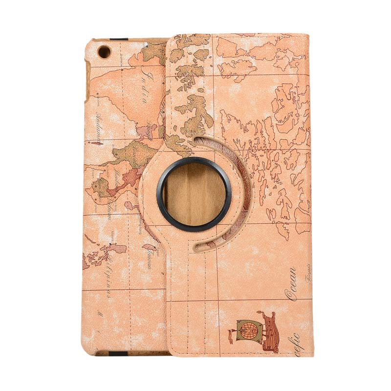 case Brown 360 Degree Rotating Case For Apple iPad 10 2 2019 7th Generation A2197 A2200 A2198 A2232