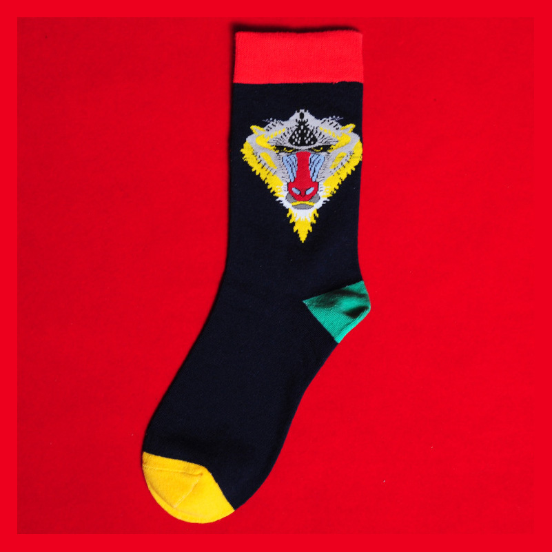 1Pair Letter HipHop Sport Novelty Soft Black Blue Yellow White Adjustable Elastic Cotton Cool Comfortable Creative Outdoor Socks