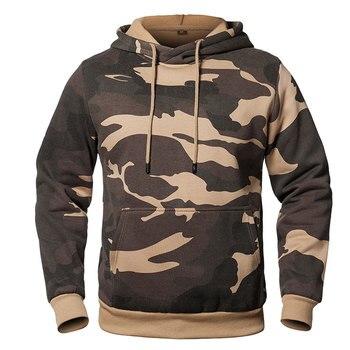 Camouflage Hoodies Men 2020 New Fashion Sweatshirt Male Camo Hoody Hip Autumn Winter Military Hoodie Mens Clothing US/EUR Size