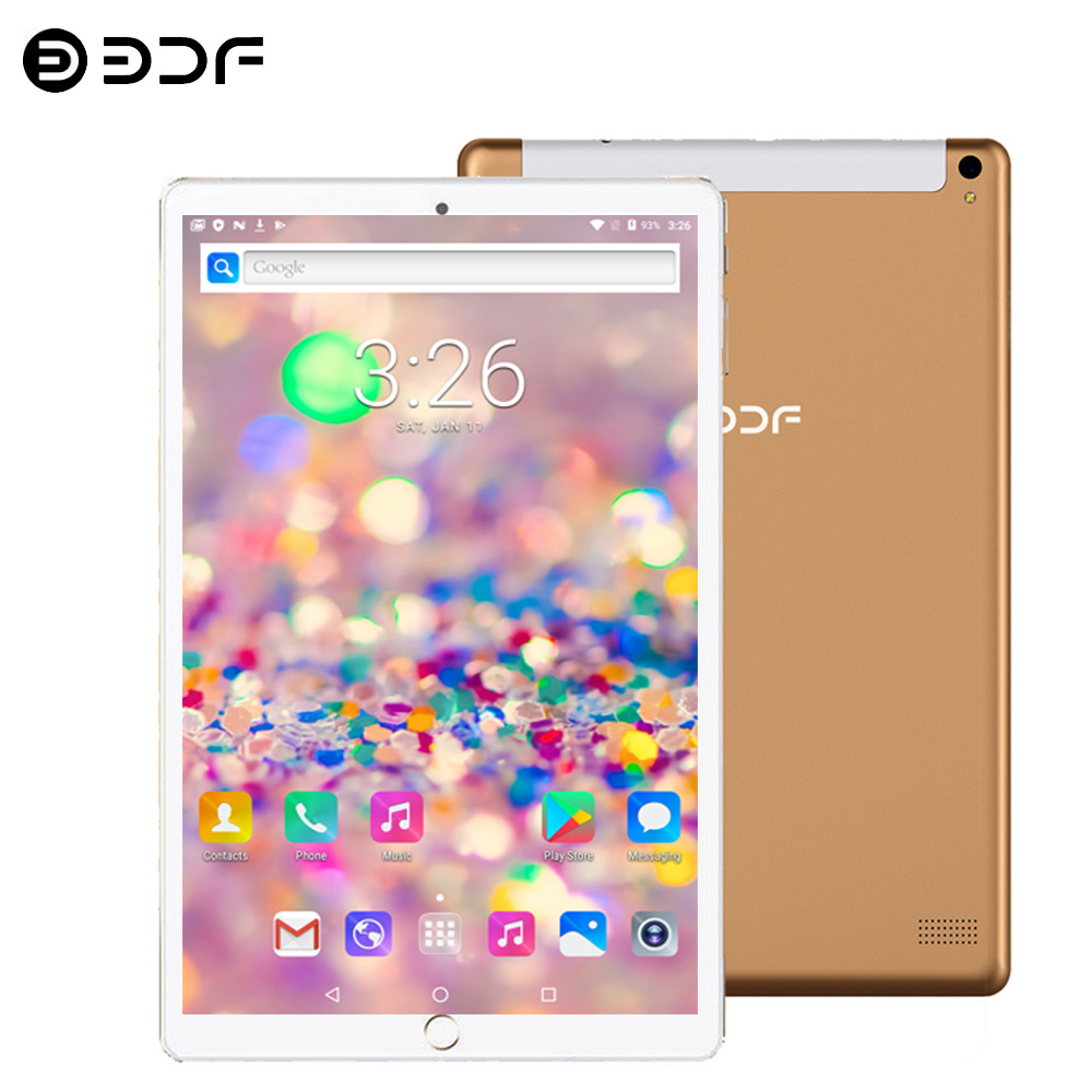 New 10.1 Inch Tablet 6GB RAM 64GB ROM Octa Core Dual SIM 5.0MP Bluetooth4.0 Wi-Fi IPS 10.1 Tablet Pc Android 7.0+Gifts