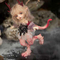 Fairyland Realfee Ena 1/7 Ena muñecas dragón BJD cuerpo modelo niñas niños muñecas ojos resina